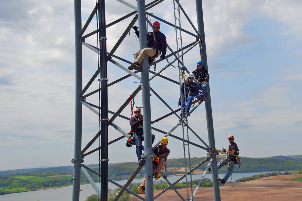 Tower Climbing, Maintenance and Inspection - Edge Consulting Engineers