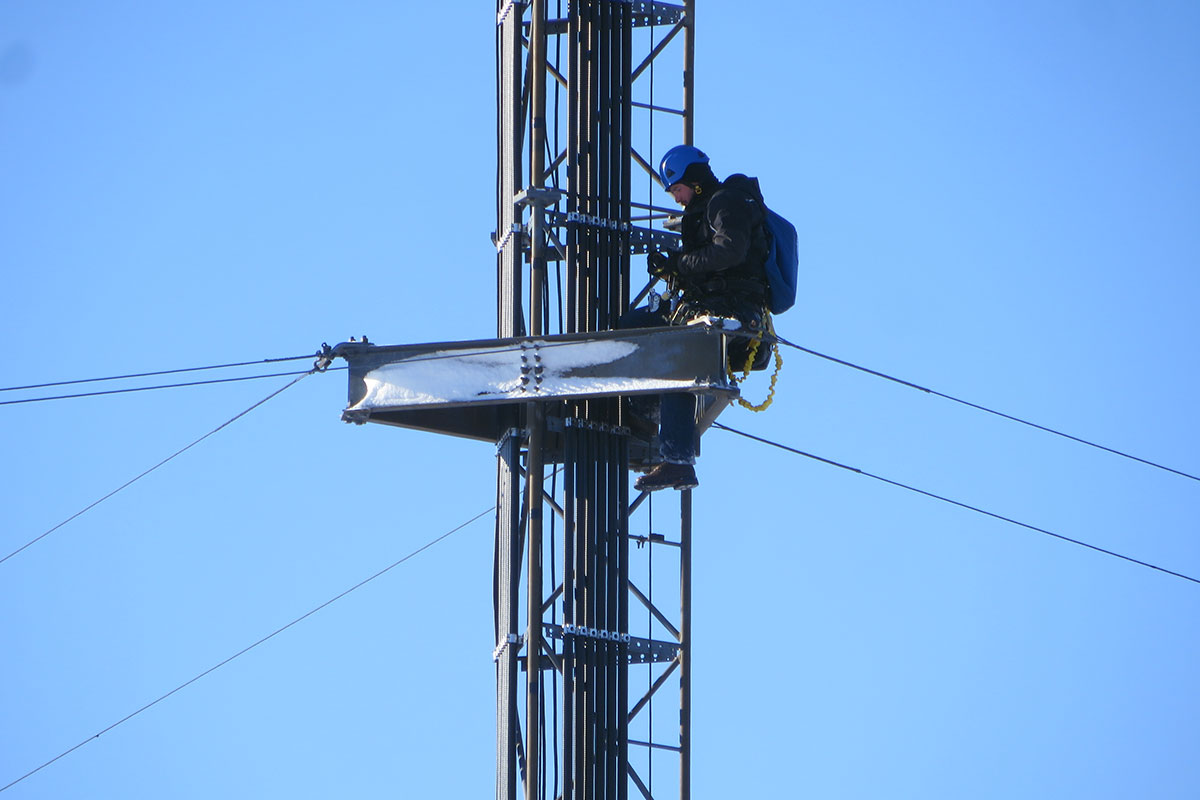 Tower Climbing Maintenance And Inspection Edge
