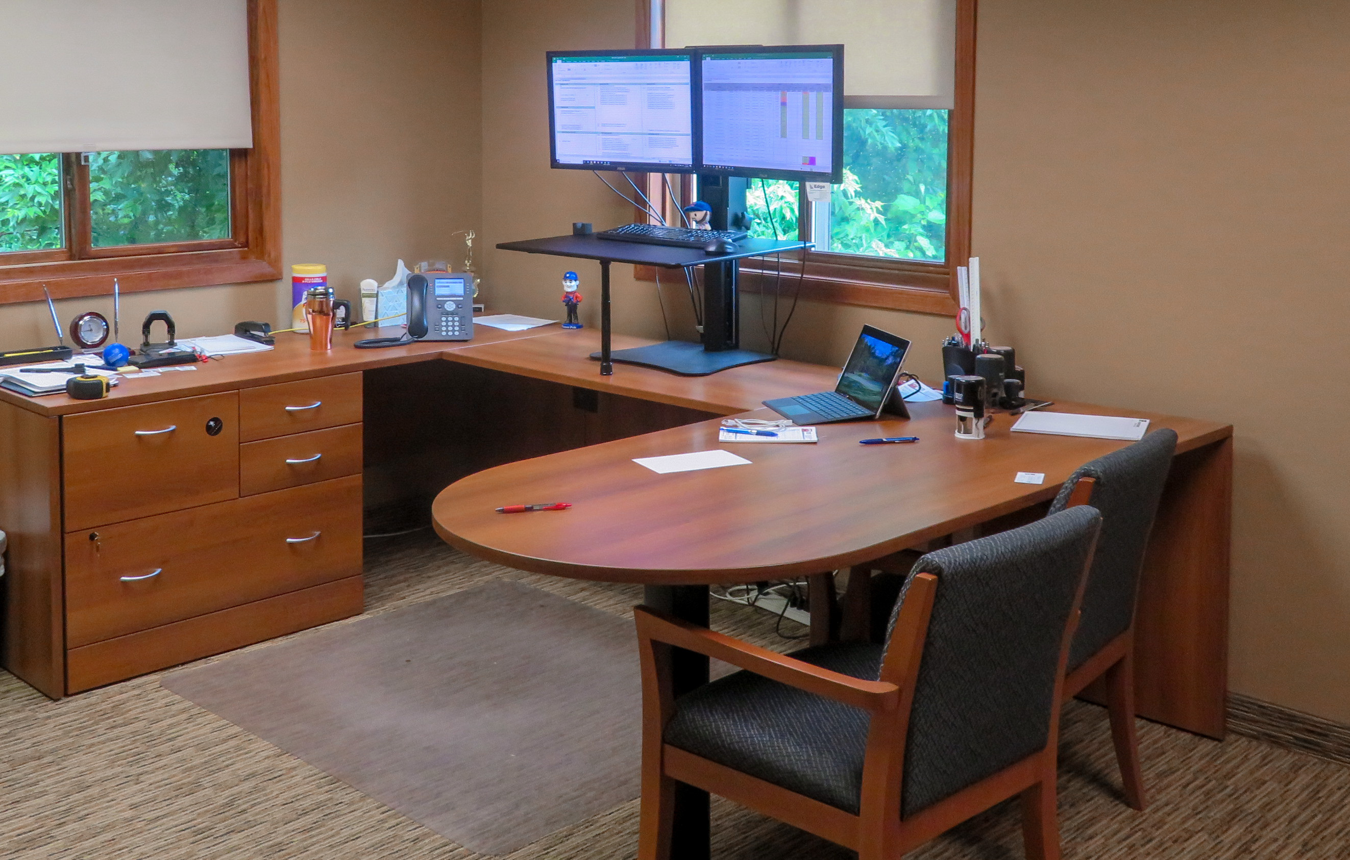 Another employee office